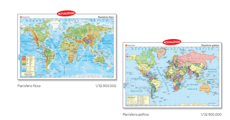 Año Internacional del Mapa |Vicens Vives