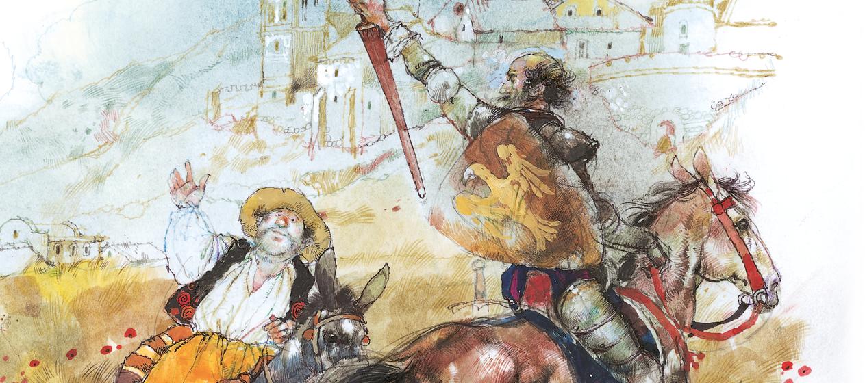 QuijoteTuits | Vicens Vives