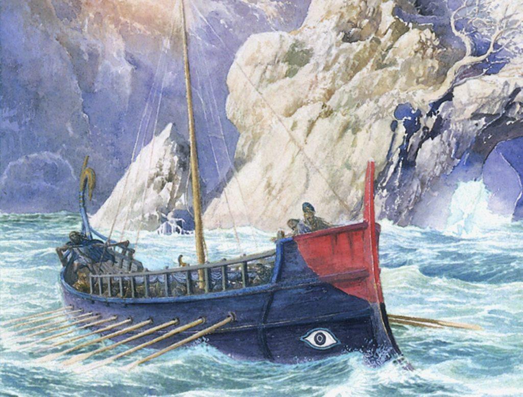 Las aventuras de Ulises | Ilustración de Alan Lee