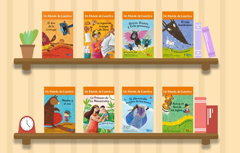 Presentamos todos los libros de la colección de VVKids, Un mundo de cuentos. Cuentos para trabajar la tolerancia, el respeto, la solidaridad...
