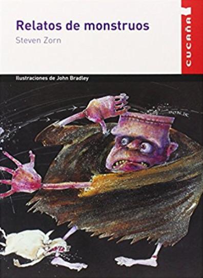 Portada del libro relatos para monstruos como ejemplo de libros para el verano