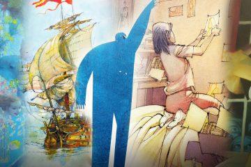 Dibujos de 5 libros ilustrados de vicens vives
