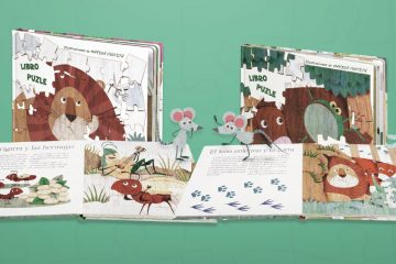 Presentamos los nuevos libros puzle de VVKids: las fábulas de Esopo y las fábulas de La Fontaine.
