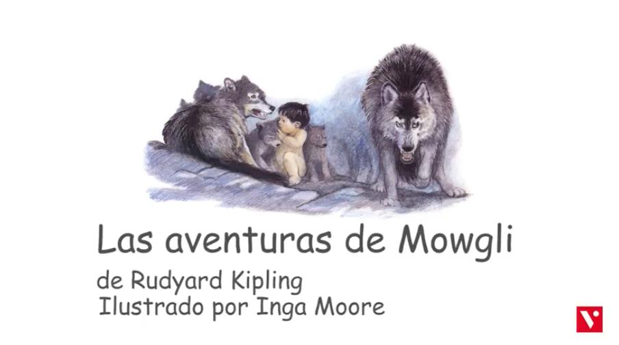 Portada de Las Aventuras de Mowgli para ilustrar las ventajas educativas de los videocuentos
