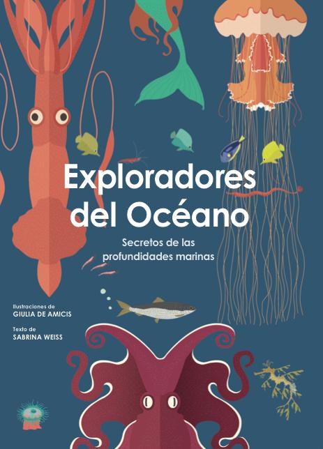 Portada Libro Exploradores del Océano de VVKids para explorar el océano