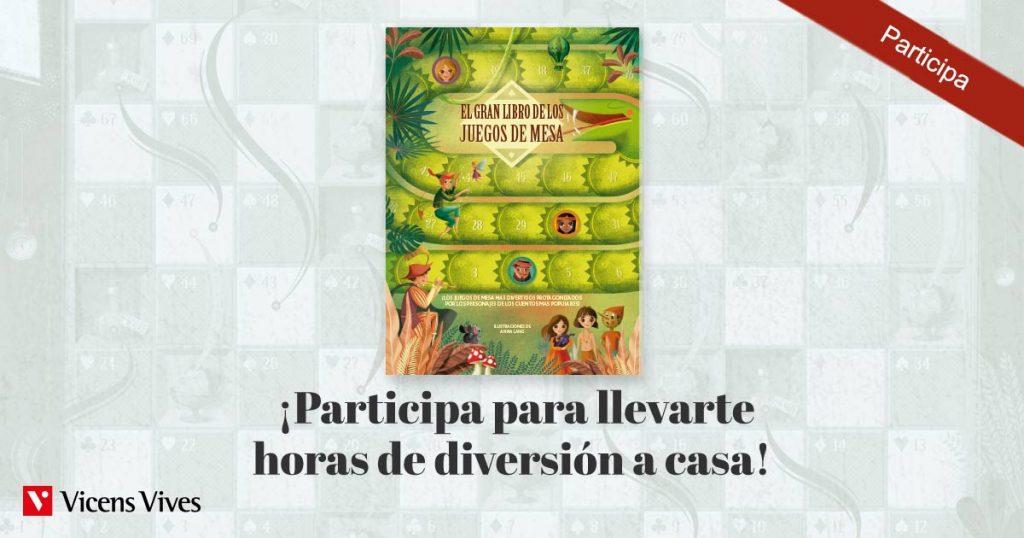 Imagen del sorteo de El Gran Libro de los juegos de mesa