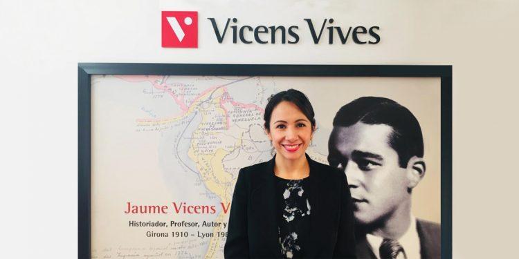 fotografía de Damaris Beltrán, directora de Vicens Vives Colombia