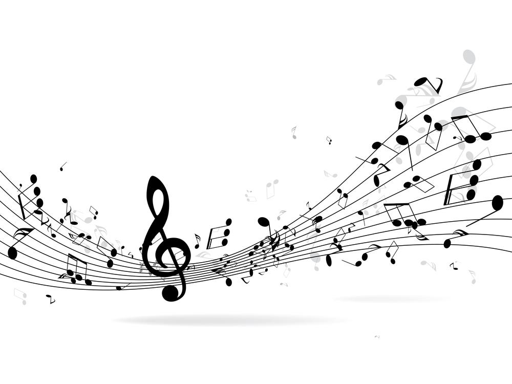 Imagen de un pentagrama con notas que ilustra el valor educativo de la música