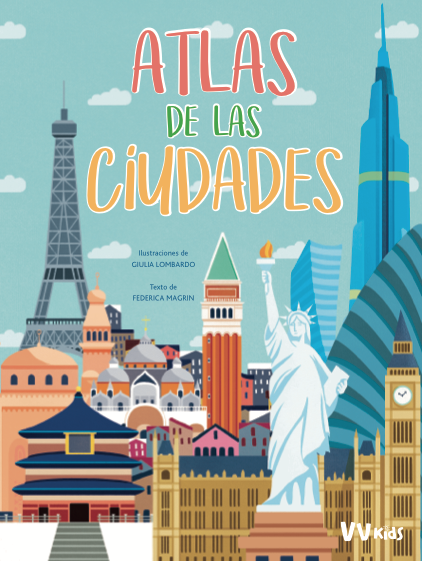 Portada del Atlas de las ciudades en nuestras recomendaciones para estas navidades