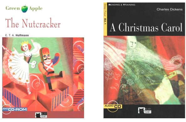 portadas nutcraker y christmas carol