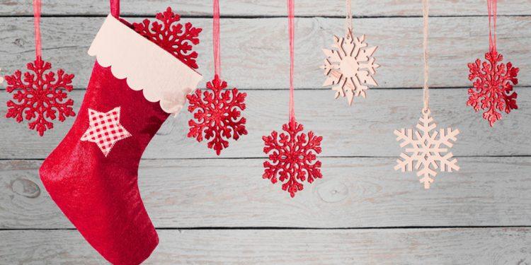 calcetín de navidad con otros motivos colando para christmas