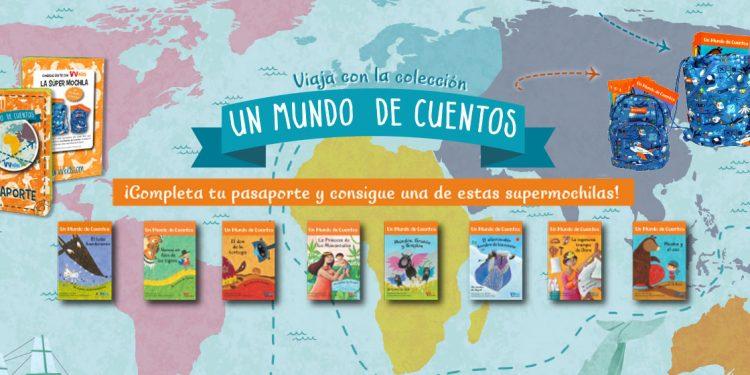 Banner promoción de pasaporte a un mundo de cuentos