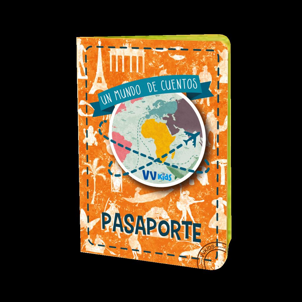 Portada Pasaporte a un mundo de cuentos