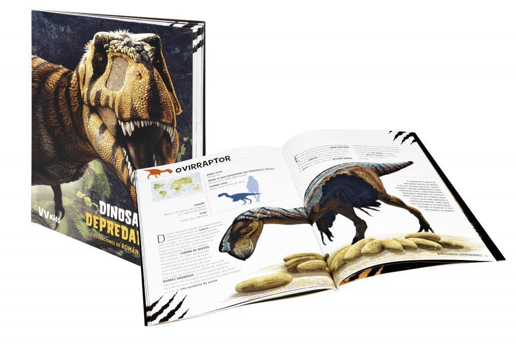 Dinosaurios depredadores entre recursos educativos con dinosaurios