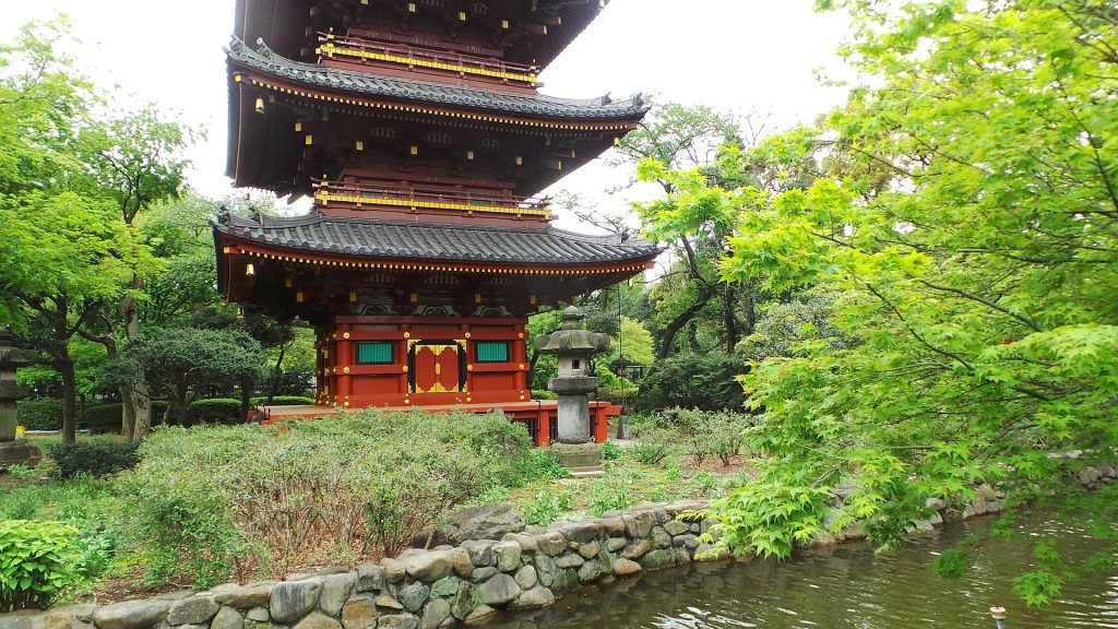 Parque Ueno Tokio en ciudades con niños