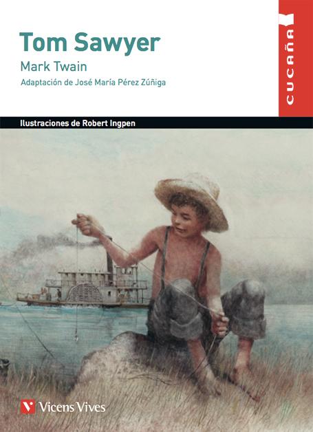 Portada Tom Sawyer el Día del Libro