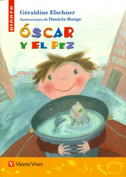 Portada de Óscar y el pez el Día del Libro