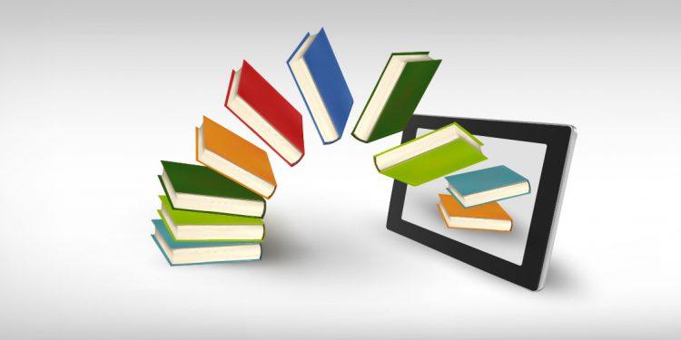 Infografía del libro papel y el digital para hacer un elogio del libro