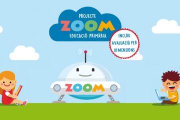 Logo de Zoom Primaria amb diferents motius