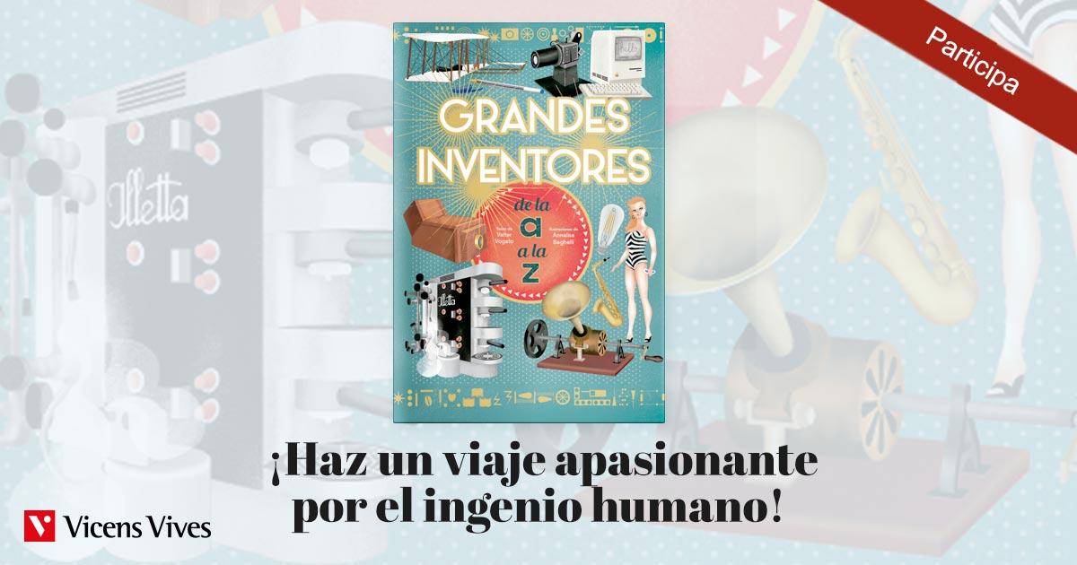 Sorteo de libro sobre grandes inventores