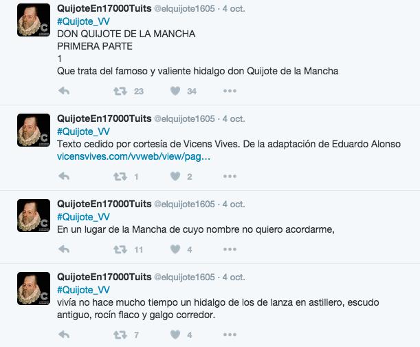 QuijoteTuits2   Vicens Vives