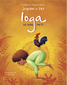 Portada Juguem a fer ioga de bon matí, llibres per compartir en familia