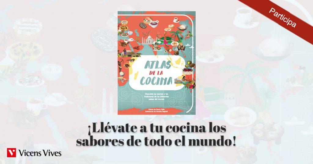 Sorteo de Atlas de la cocina para aprovechar los beneficios de aprender a cocinar