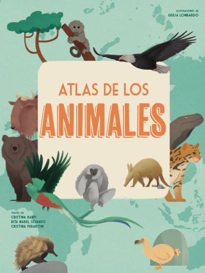 Portada del Atlas de los animales el Día de la diversidad biológica
