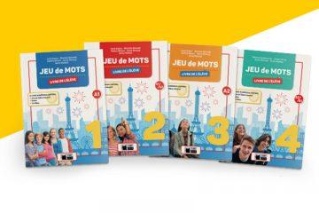 portadas 4 libros jeu de mots
