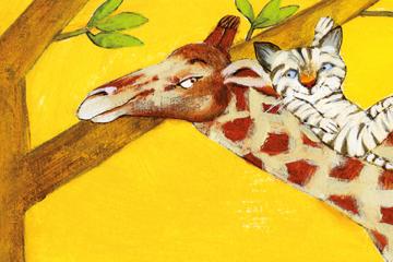 """Il·lustració de Carme Solé pel llibre """"Què ens fa feliços?"""""""