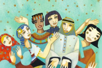 Ilustración de Christina Balit para Cuentos sabios