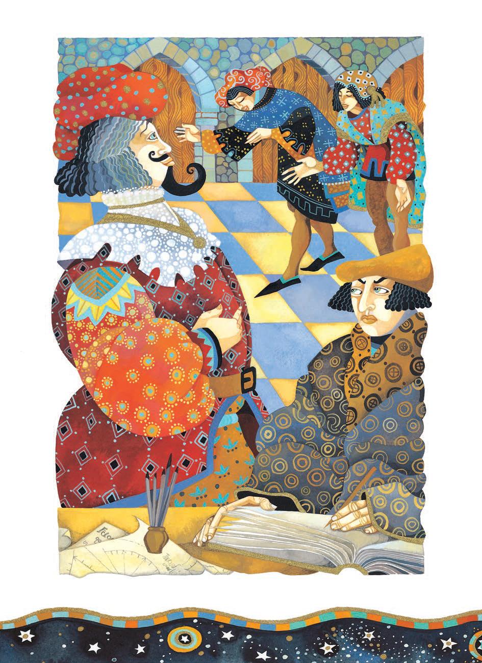 Ilustración del libro Cuentos sabios