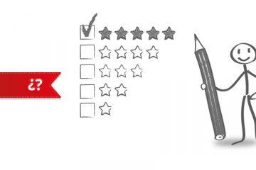casillas con estrellas marcadas para autoevaluación