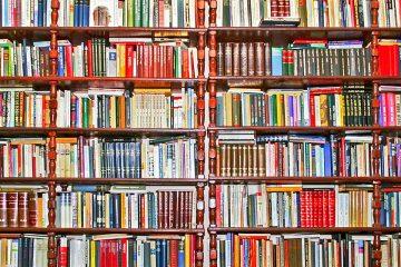 Libros para ilustrar la Librería París de Zaragoza