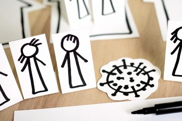 Recortables durante la cuarentena para ilustrar actividades para los más pequeños