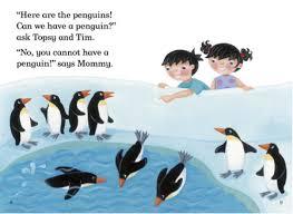 penguins Lady Bird
