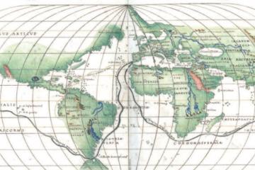 mapa ruta de hernando a magallanes