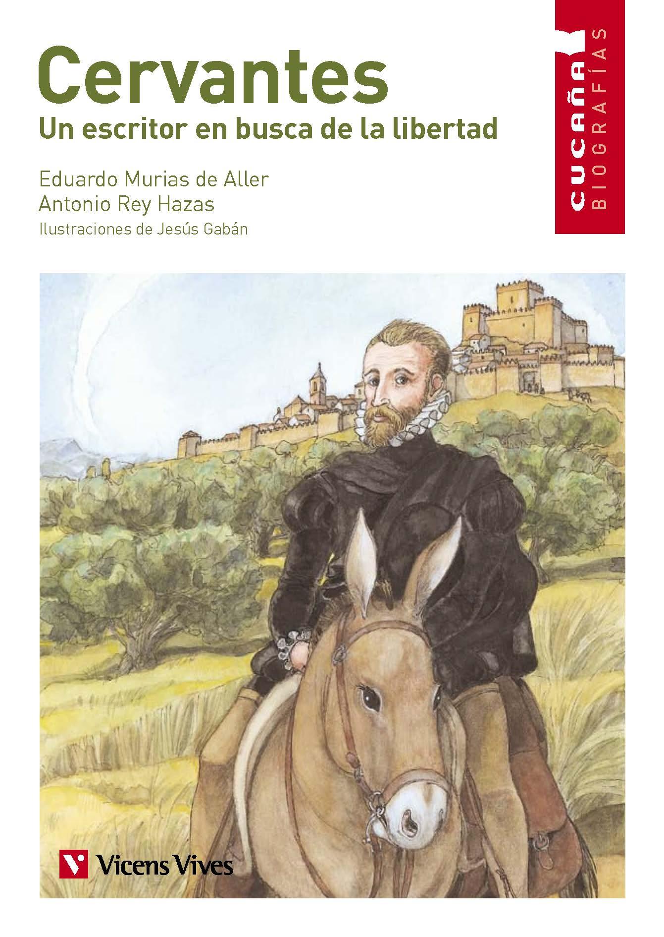 portada biografía Cervantes per a Vuelve el Día del libro
