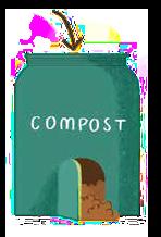 compostador para abono