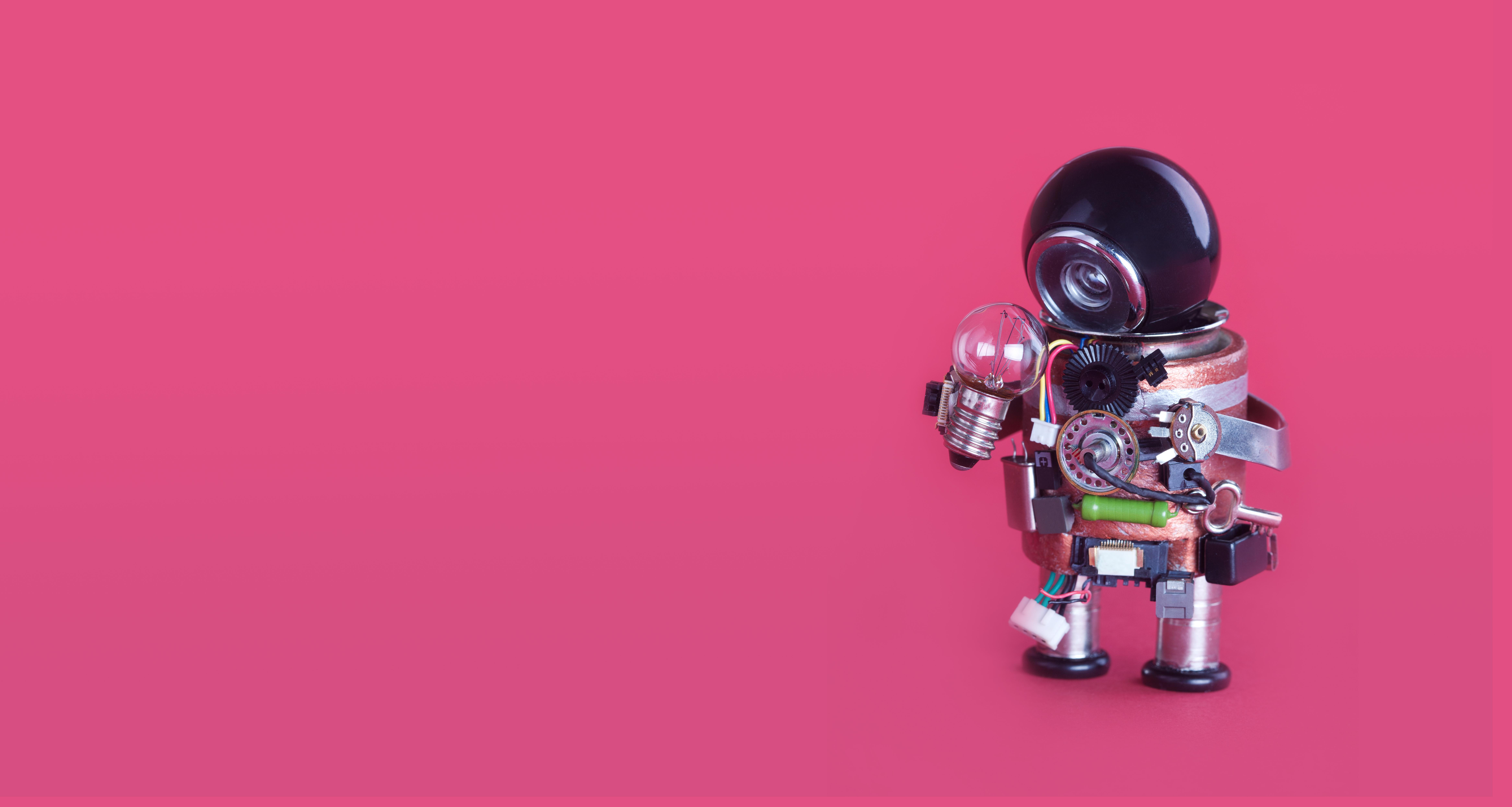 Robot para la ilustrar la educación en la creatividad de Project Zero