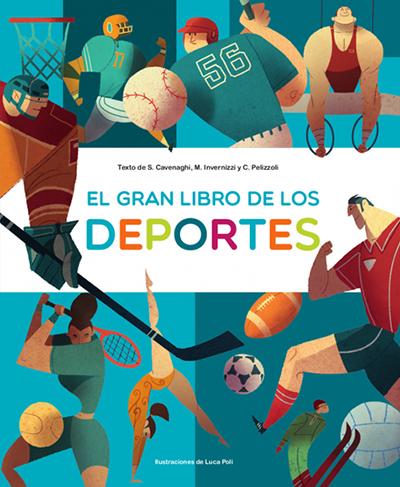 Portada de El gran libro de los deportes para ilustrar el valor educativo del deporte